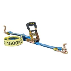 Hand Ratchet and Strap 35mm x  6M 1500kg c/w hook & keeper