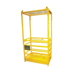 Crane Works Cage - 2 Person 250Kg With Mesh Roof