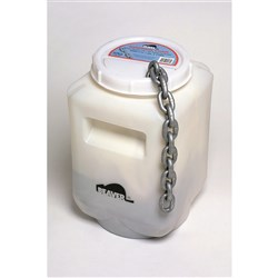 Beaver Proof Coil Chain Regular Link (50kg Pail)