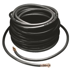 Scott 20 Metre PVC Hose Black With Cen Couplings