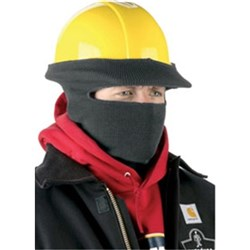 N-Ferno Safety Helmet Stretch Cap (Full Face) Black