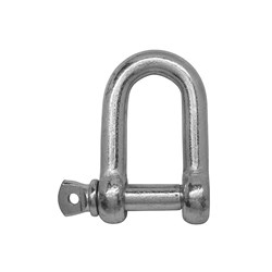 Shackle Safety Dee Gr S Galv  35x38mm WLL 13.5T