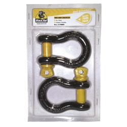 Black Rat Bow Shackle 16x 19mm