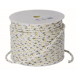 Beaver Silver Staple Rope Polyethylene - 6mm x 125m