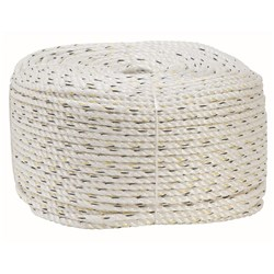 Beaver Silver Staple Rope Polyethylene - 12mm x 250m