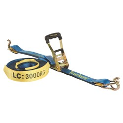 Rtd 50mm X 9M C/W Hook & Keeper Lc 3000Kg