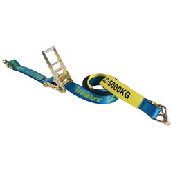 Hand Ratchet and Strap 75mm x  12M  LC 5000kg
