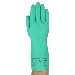 Ansell 37-145-9 Solvex 33Cm Unlined Nitrile Glove