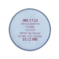 3M Particulate Filter 2138