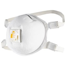 3M Cupped Particulate Welding Respirator 8512 Valved P2