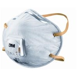 3M Disposable Respirator 8812 Valved P1