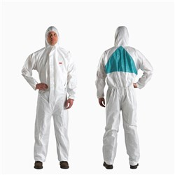 3M 4520 Type 5 and 6 Disposable Coveralls - Large