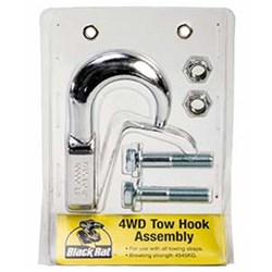 4WD Towing Hook Assy Chrome