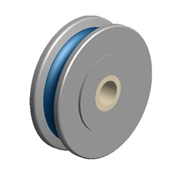 Sheave Only Fibre Beaver 63mm  10mm 250kg