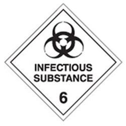 Infectious Substance 6 270mm Metal