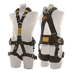 Evolve Fullbody Harness Front D,Side D