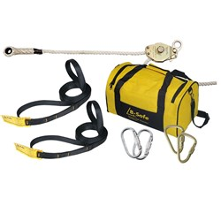 Temporary Rope Static Line  Kit  B-Safe 20M Rated for 2  people