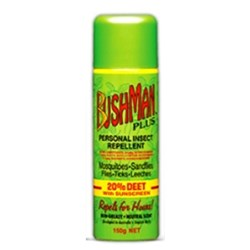 Bushmans Repellent And Sun Screen 150G