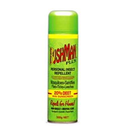 Bushmans Aerosol Insect Repellent 350G