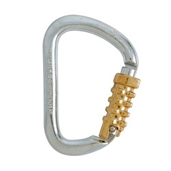 Karabiner B-Safe Alloy Triple  Action Large Dee  30kN