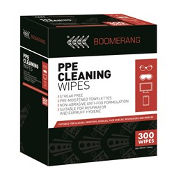 Boomerang PPE Cleaning Wipes
