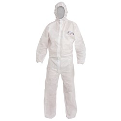 Coveralls Kleenguard A20 6422 White Lge