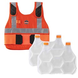 Ergodyne Chill-Its FR Phase Change Cooling Vest with Pack