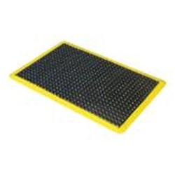 Kenware Ergo Tred Comfort Mat Yellow Border 900X1200mm
