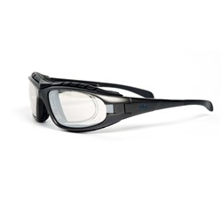 Frontier Edge Silver Mirror Prescription Insert Safety Glasses