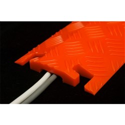Pedestrian Cable Protector Orange
