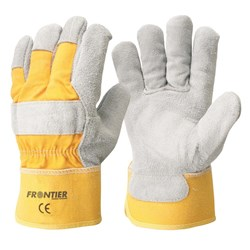 Yellow Leather  Rancher-Glove