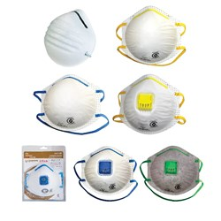 Frontier Disposable P1/P2 Cup Respirator