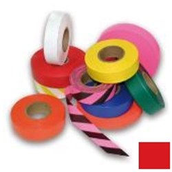 Red Flagging Tape 25mm x 100m