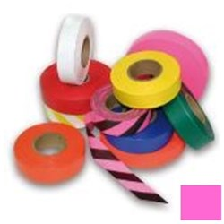 Fluro Pink Flagging Tape 25mm x 100m