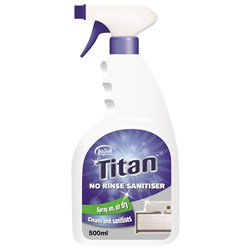 Titan No Rinse Surface Sanitiser