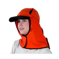Vision Safe Kalahari Hat in Orange