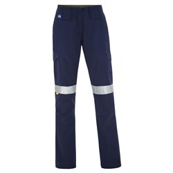 WS Workwear Womens Cargo Pants with Reflective Tape
