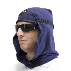Uveto Cotton Work Hood Navy