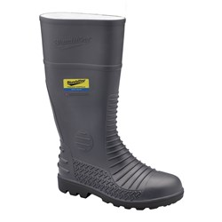 Blundstone 025 Comfort Arch PVC Safety Gumboots Grey