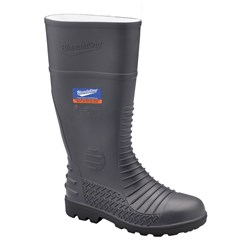 Blundstone 028 Penetration Resistant PVC Safety Gumboots Grey