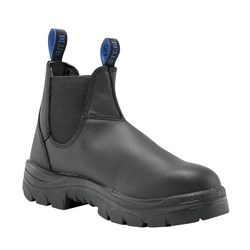 Steel Blue Hobart Elastic Sided Safety Boots