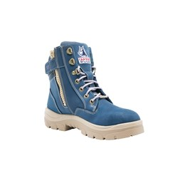 Steel Blue Southern Cross Ladies Safety Boot with Nitrile Outsole