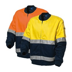 WS Workwear Hi-Vis Kiandra Jacket with Reflective Tape