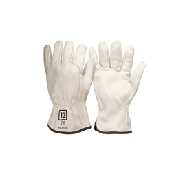 Frontier Leather Beige Rigger Glove