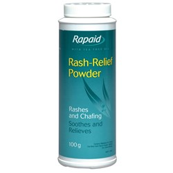 Rapaid Medicated Foot Powder 100G