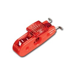 Master Mini Wide Lockout - Red