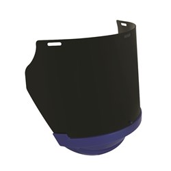 Unisafe Replacement Shade 5 Polycarb Visor/Blue Chinguard