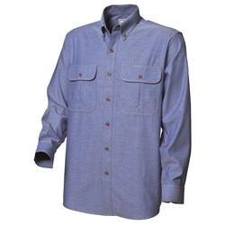 WS Workwear Chambray Button-Up Shirt