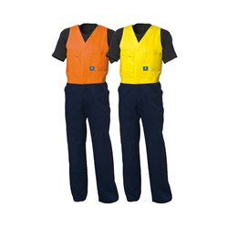 WS Workwear Mens Action-Back Drill Overall