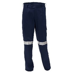 Navy Assorted Heavy Weigh Cargo Pocket Trouser - Special Size